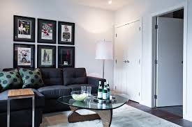 Decorating With Dark Grey Sofa Cute Living Room Ideas Living Room Contemporary With Floor Lamp