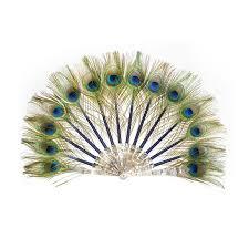 peacock fan luxury peacock fan by duvelleroy la perfection louis