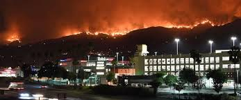 los angeles wildfire largest in city s history mayor says abc news