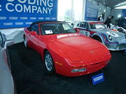 1991 porsche 944 s2 cabriolet gooding and company amelia island 2012 auction report