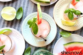 watermelon mojito cool watermelon basil mojitos to rescue you from the dog days of