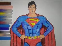 superman coloring pages colouring book kids color