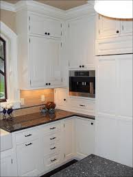 kitchen maple kitchen cabinets with black appliances modern