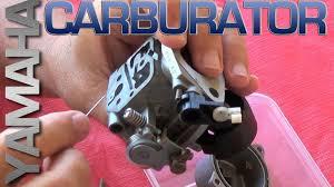 yamaha carburator detailed cleaning youtube