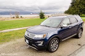 Ford Explorer Platinum - review 2016 ford explorer platinum hello vancity