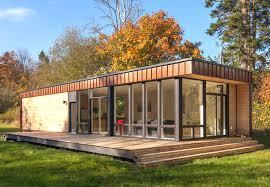 prebuilt tiny homes element 1 is a modern prefab island retreat that frames views of