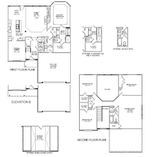 Floor Plans For 2 Story Homes by New Ball Homes Floor Plan The Spencer Ii Expanded