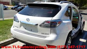 car lexus 2010 lexus rx 350 2010 car for parts youtube
