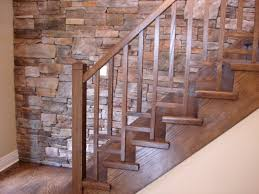 stairway railing ideas wooden stairs railing design modern
