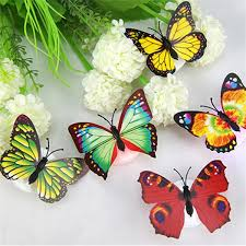 led 3d butterfly stickers thefashionbooth