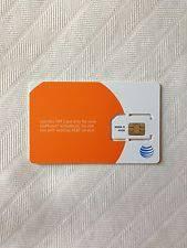 ready prepaid card at t cigular 3g sim card 64k prepaid go phone ready to activate