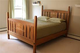 Custom Made Bedroom Furniture Custom Arts And Crafts Furniture Mackintosh Style Inlaid Bedroom