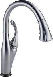 kitchen faucets with sprayer in head delta faucet 9192t ar dst addison single handle pull down kitchen