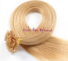 girlis luxury hair extensions 0 5g nail tip pre bonded remy hair