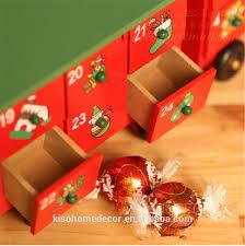 christmas old man snowman elk calendar box the new year decoration