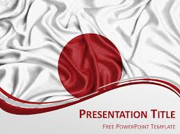 Japanese Template Powerpoint japan flag powerpoint template presentationgo