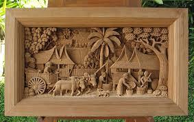wood wall carvings teak sculpture thai wall hangings table mounts free standing