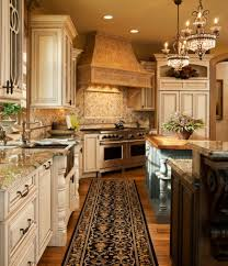 fabulous country kitchen designs ideas corner kitchen with runner along the floor front sink and painted