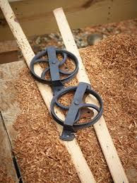 Make Barn Door by How To Make A Sliding Barn Door Track Saudireiki