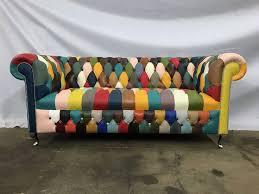 Patchwork Chesterfield - kaleidoscope chesterfield sofa www redglobalmx org
