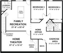 Free House Plans With Basements Basement Floor Plan Ideas U2013 Novic Me
