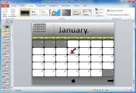 powerpoint calendar 2014 template calendars office printable