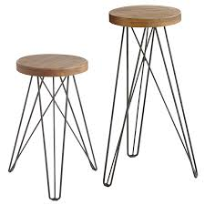 Industrial Counter Stools Our Modern Industrial Erie Stools U2014with Their Hairpin Legs And