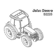 10 free printable john deere coloring pages