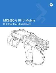 motorola mc9090 g user guide