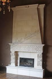 limestone fireplace binhminh decoration