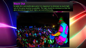 glow party ideas some amazing neon glow party ideas