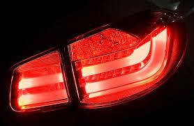 vw led tail lights 2018 volkswagen tiguan led tail ls light bar version tail lights
