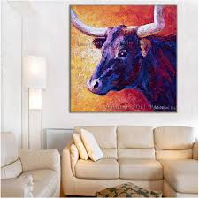 aliexpress com buy hand painted modern oil painting hang
