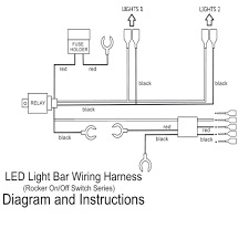 how to wire led light bar to high beam pins led light bar driving switch relay rocker wiring in pin wire