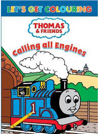 calling engines colouring book thomas u0026 friends wiki