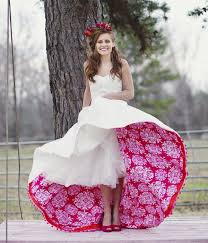 cool wedding dresses the idea of lining the dress with a lining of any