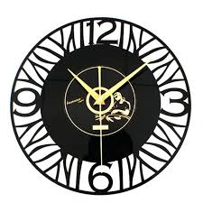 fabulous music wall clocks design retro clock home decor creative