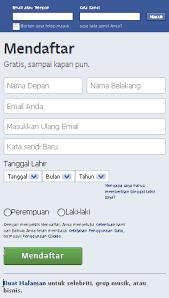 kesulitan membuat akun facebook cara membuat facebook baru daftar akun fb belajar menjadi blogger
