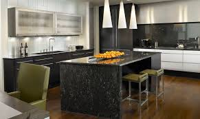 marble island kitchen how black marble can make your home more glamorous