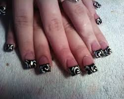 picture 10 of 11 french tip nail designs for beginners photo