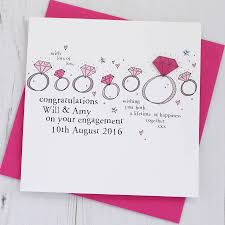 Congratulations Engagement Card Personalised Engagement Card By Eggbert U0026 Daisy