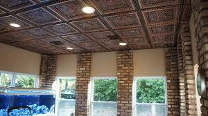 Tin Ceiling Panels by La Scala Faux Tin Ceiling Tile 24