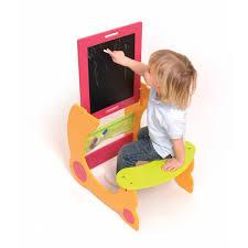 tableau bureau combiné bureau et tableau pour enfants