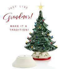 ceramic christmas tree grandmothers ceramic christmas tree