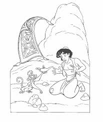 alladin coloring pages aladdin coloring pages free printable for kids cartoon coloring