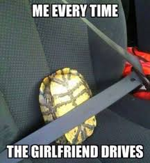 Funny Memes About Girlfriends - girlfriend meme me every time the girlfriend drives image