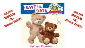 build a teddy the date build a 5 00 national teddy day
