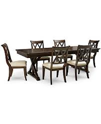 Baker Dining Room Table Baker Street Dining Furniture Collection Furniture Macy U0027s