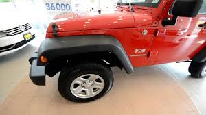 2009 jeep wrangler x 6 speed stk 29749a for sale at trend