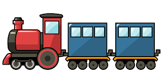 free train clip art 5894